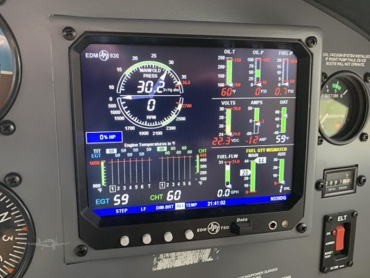 N339DGEDM930 control panel